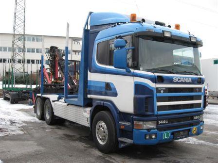 Camion Forestier De Vanzare Scania
