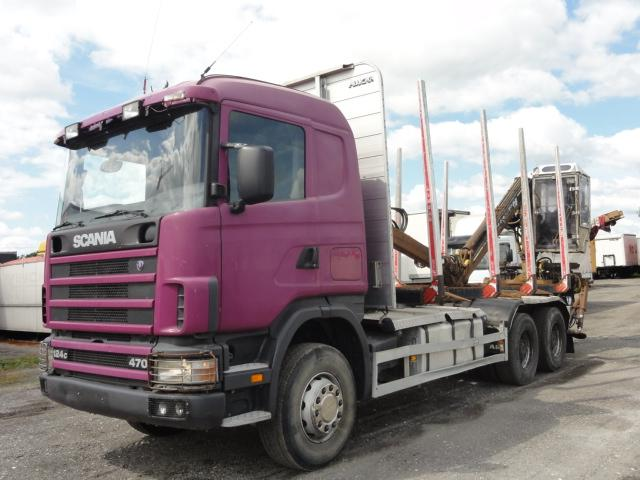 Camion Forestier Transport Busteni SCANIA