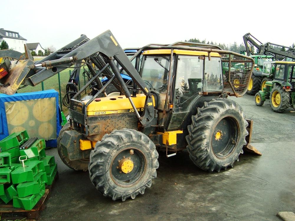 Tractor Forestier John Deere 2850 troliu dublu